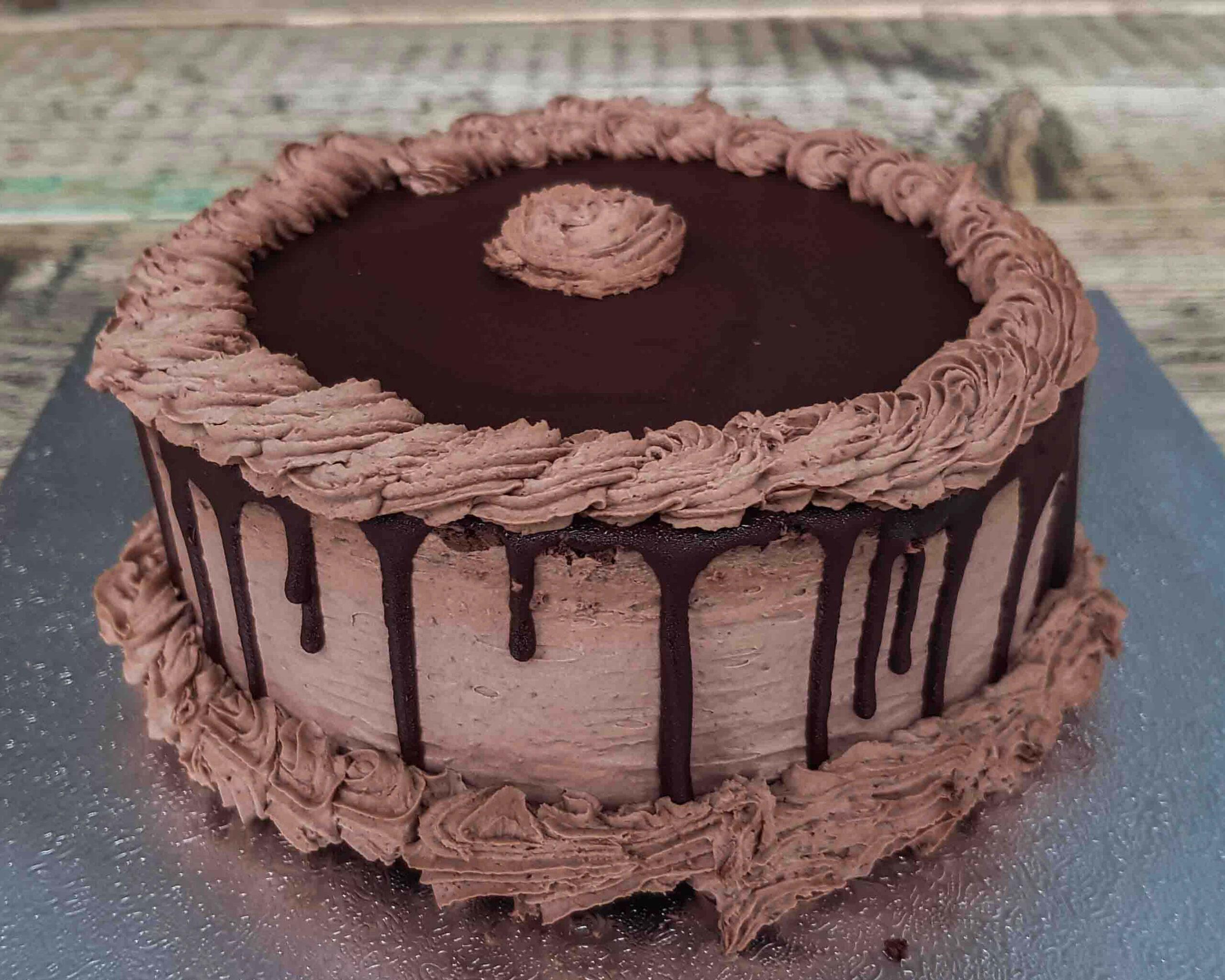 Strawberry cottagecheese cake